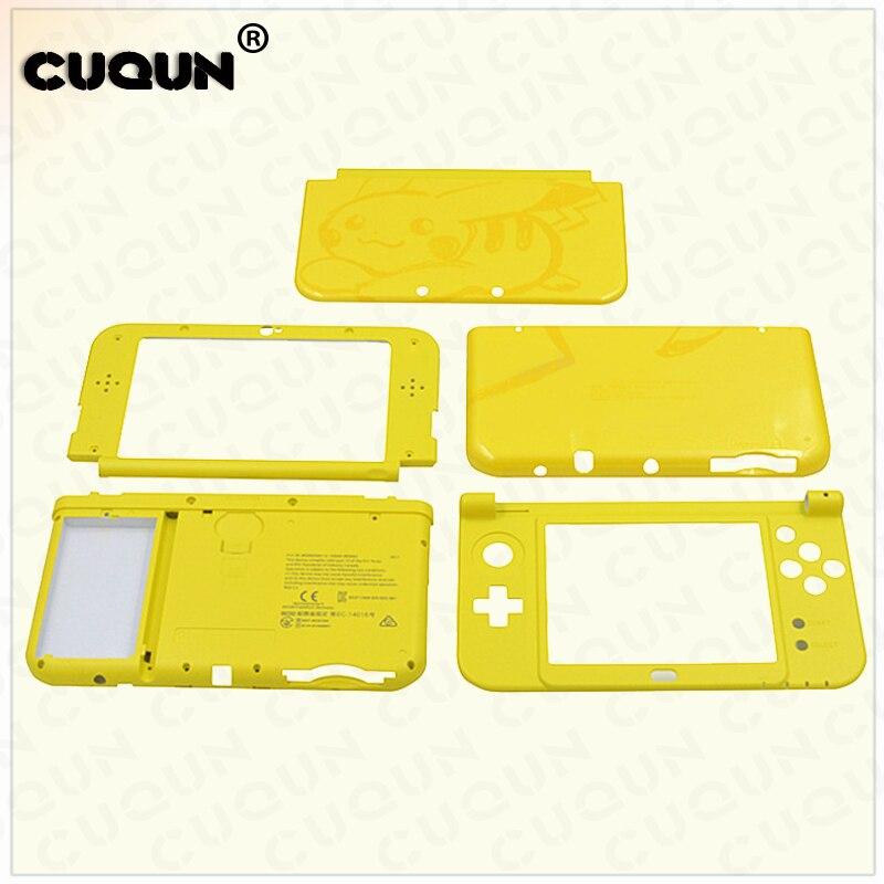Pour Nintend Pika Galaxy Style Nouveau 3 DSXL Logement De Remplacement De Cas Shell Cas Pour Nouveau 3DS XL LL Cas Couverture