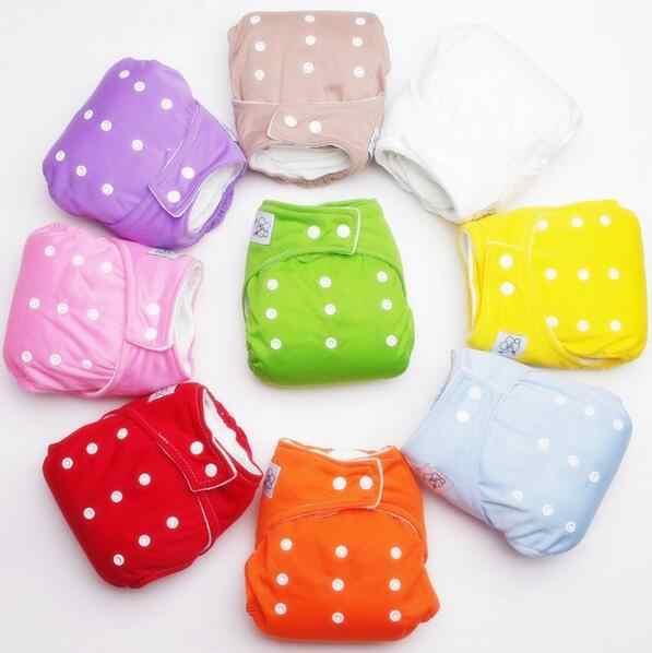 Gran oferta 1 Uds. Pañales de tela reutilizables para bebés y bebés fundas suaves lavables tamaño libre Fraldas ajustables invierno verano versión