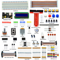 Adeept Starter Kit For Raspberry Pi 2 Model B B Python LCD1602 Servo