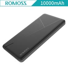 Новейший Romoss пирог 10 10000 мАч внешний Мощность банк Аккумуляторы двойной зарядка через USB выходы Запасные Аккумуляторы для телефонов для Xiaomi iPhone 7 плюс Pie10