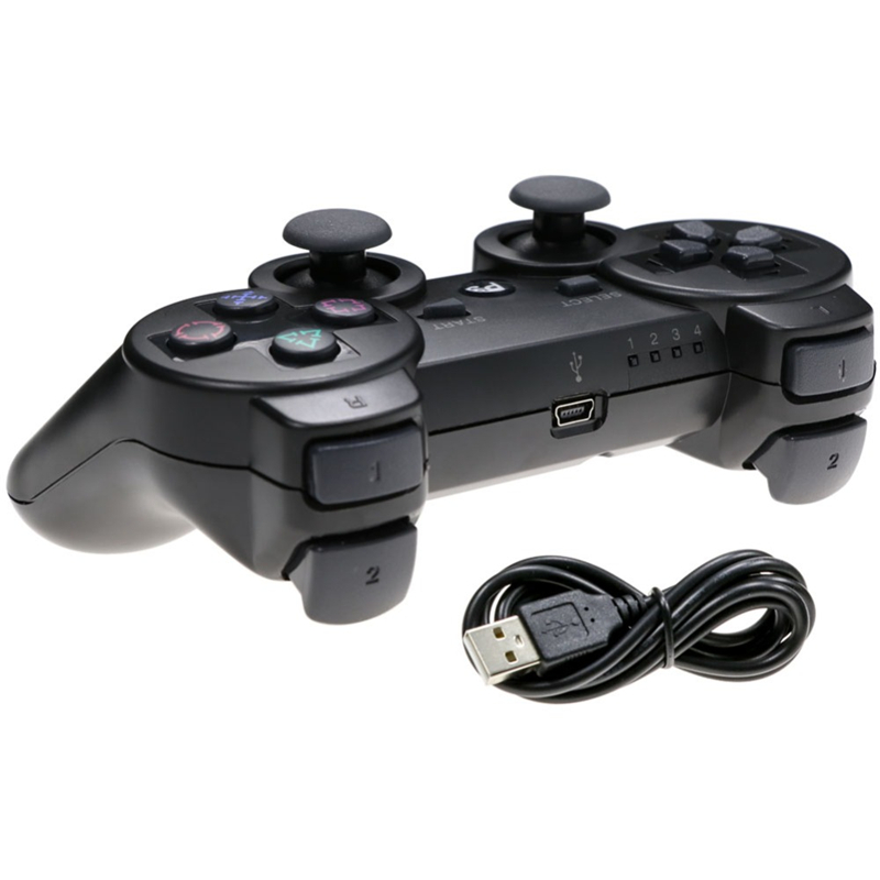 Image 3 - Hot Sale USB Wired Gamepad For PS3 Controller Dualshock 3 for Sony Playstation 3 Joystick Gamepad Controller for PS 3 Console-in Gamepads from Consumer Electronics