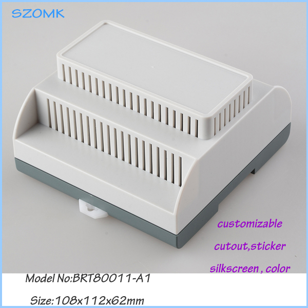 electrical junction box (4 pcs) 108*112*62mm plastic enclosure electronics switch szomk din