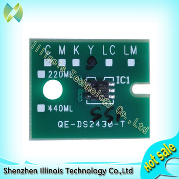free shipping One-time Chip for Mimaki JV3 SS1 Cartridge 4 colors CMYK printer parts