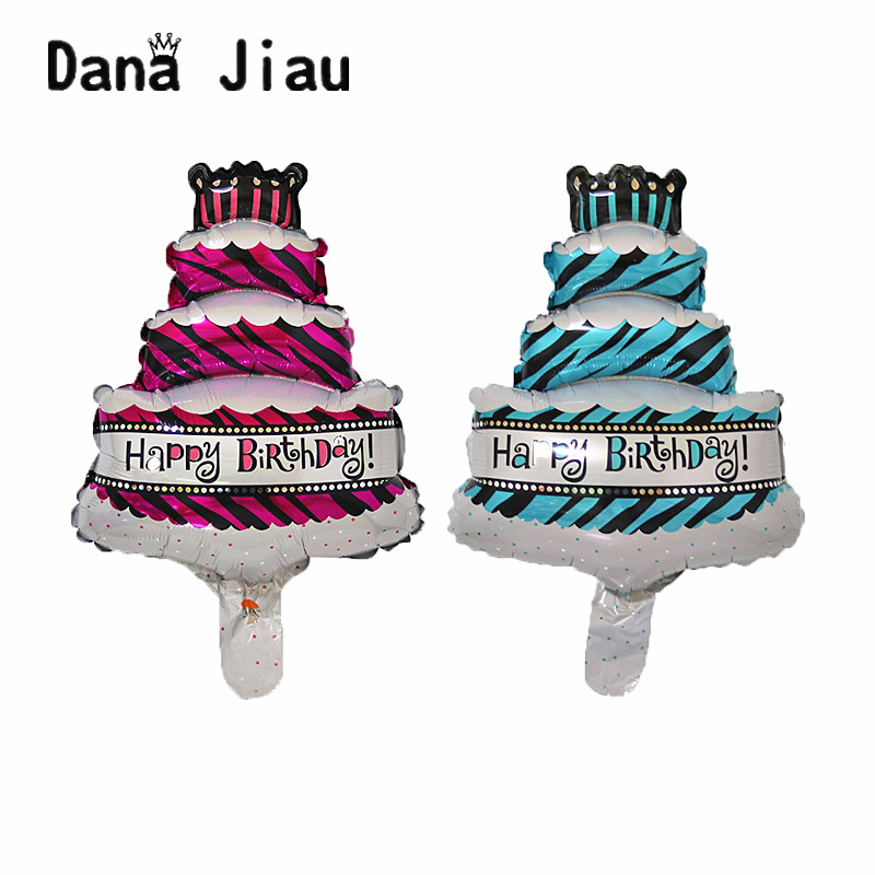 US $0.37 38% OFF Mini Birthday Party Cartoon Cake Aluminum Foil Decorations  Balloon Kids Toy Holiday Ball Wholesale Supplier-in Ballons & Accessories  ...