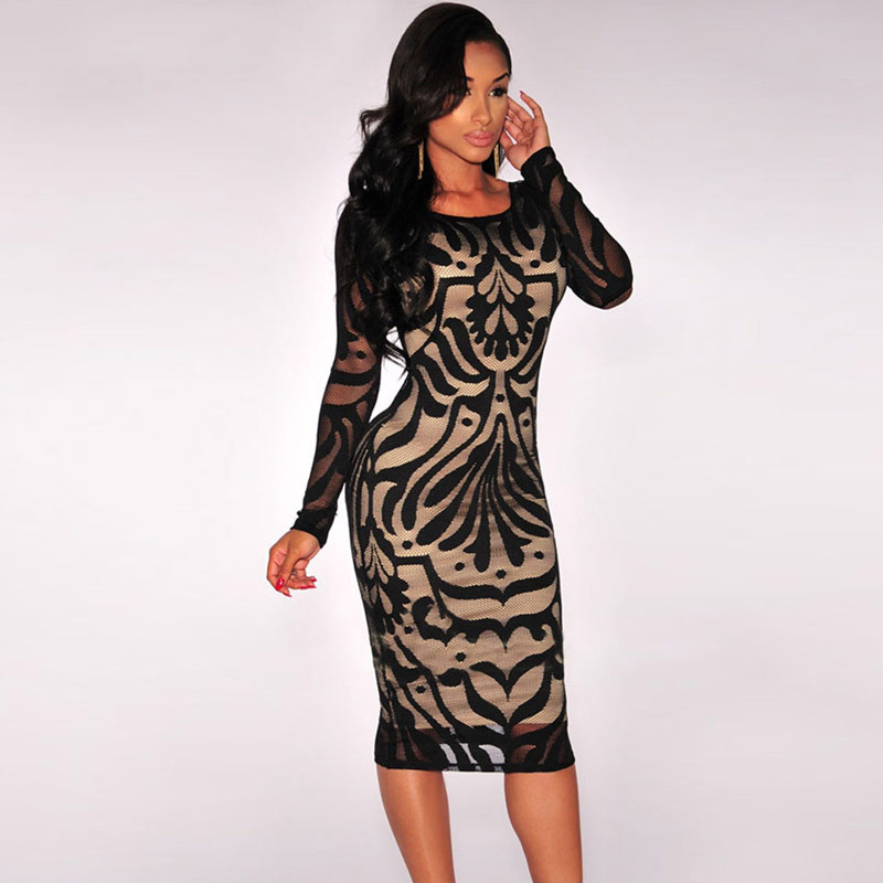 Aliexpress.com : Buy 2015 New Arrival Sexy Fall Dresses for Women ...