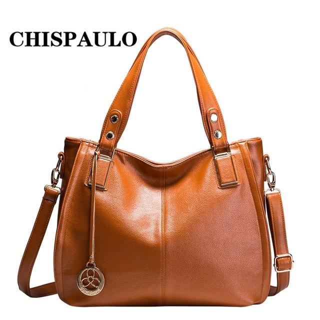 Hot New 2017 Brand Handbag Famous Brands Genuine Leather Bags Women Fashion Vintage Bag Shoulder Portable