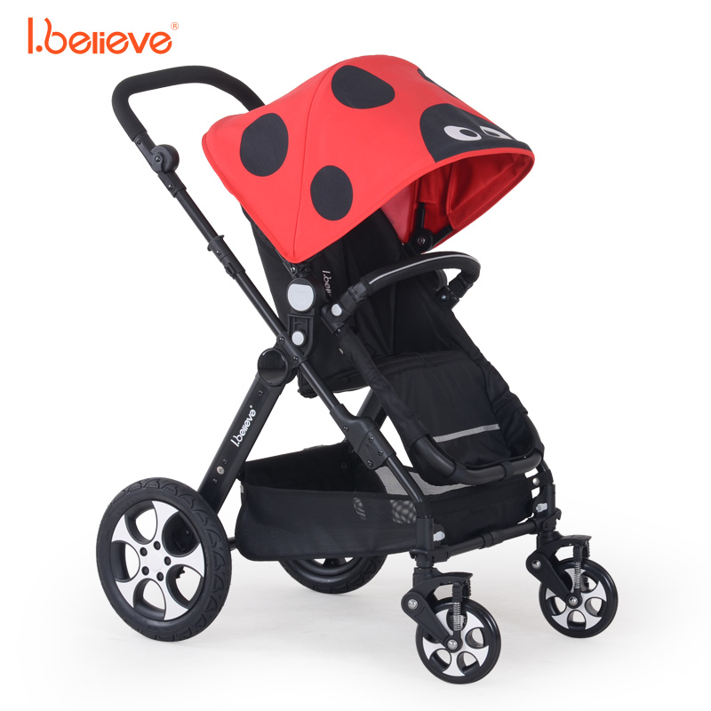 I.believe Baby Stroller B-S201 Sit&Lie High Landscope Folding Shock Absorbers Baby Carriage 0-3 Years Pram SGS certification hot selling baby stroller ultra spring shock absorption baby pram sgs was approved