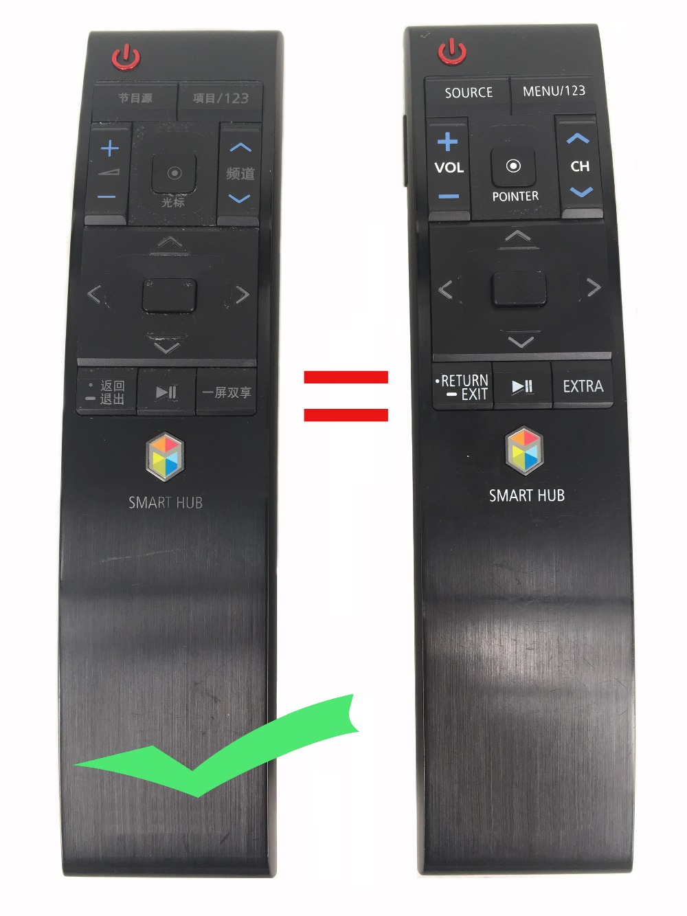 99% NEW Original BN59-01220G JU7500F Smart Remote Control For Samsung Curved TV SMART 4K UHD TV Fernbedienung