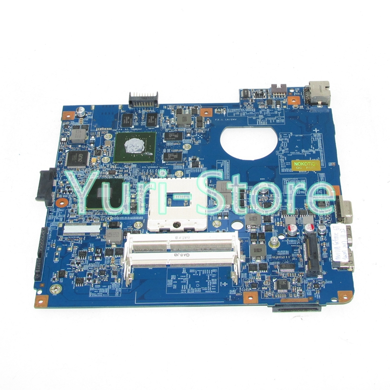 NOKOTION JE40 CP MB For acer aspire 4741 4741G laptop motherboard 48.4GY02.051 HM55 DDR3 GT540M nokotion mainboard for acer aspire 5738 laptop motherboard ddr2 ati hd4500 video card mbpke01001 mb pke01 001 48 4cg07 011