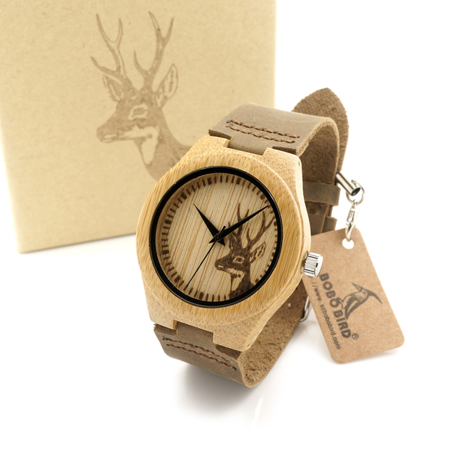 Bamboo Wood Watches for Women's