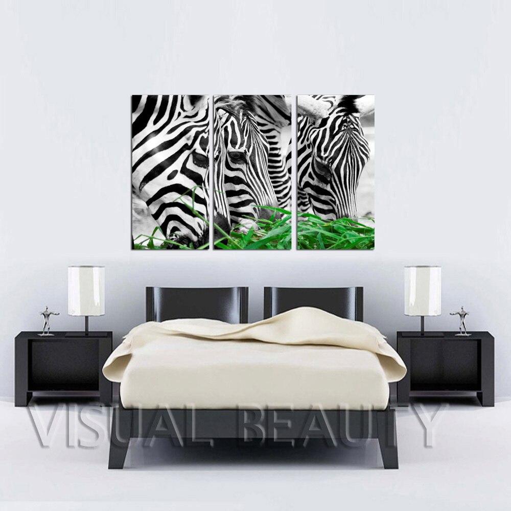 FREE SHIPPING Chrismas Gift Animal Canvas Painting Wall Decoration(Unframed)30x60cmx3pcs
