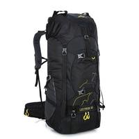 Hot Sale 60L Outdoor Backpack Camping Bag Waterproof Mountaineering Hiking Backpacks Molle Sport Bag Climbing Rucksack