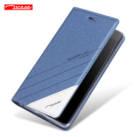 Original For Nokia 6 Case Luxury Stand Magnetic Pu Flip Smart Case For Nokia 6 Back