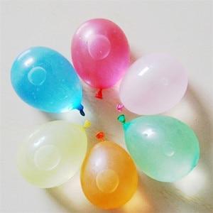 Image 5 - 100ピース/ロット誕生日装飾風船パーティー結婚式の装飾キッドパーティーsupplieyランダムカラーベビーシャワーラテックスフリーウォーターバルーン