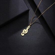 DOTIFI ожерелье из нержавеющей стали для мужчин и женщин, ожерелье с кулоном золотистого и серебристого цвета, ювелирное изделие для помолвки