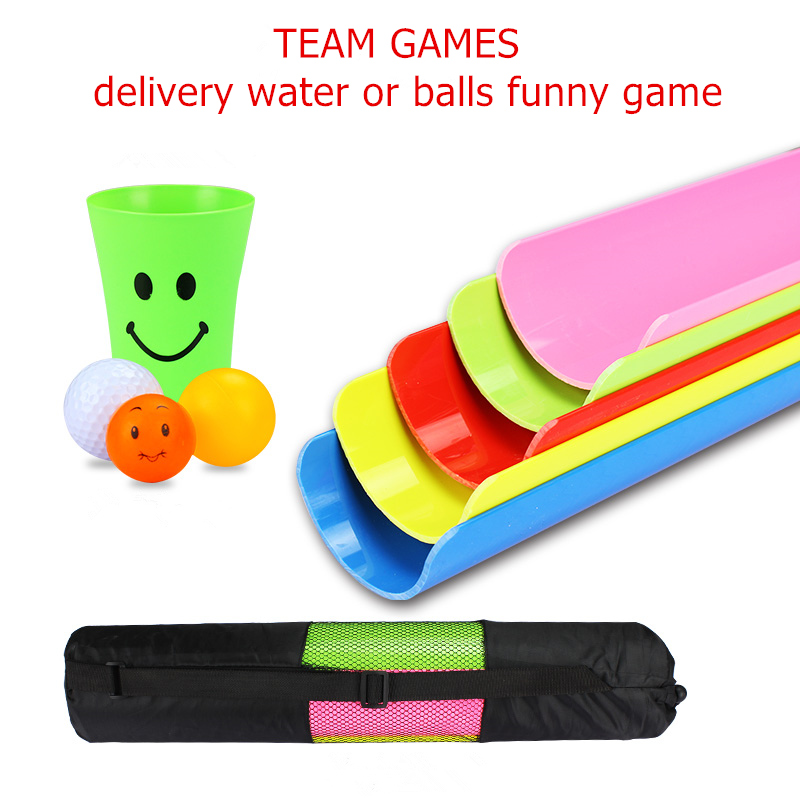 Outdoor Games Sport Toys 30cm Delivery Bars with bag Team Working Cooperation Parents Children Party Games 4 Ball and 2 Cup NOW гладильная доска великие реки ровная 1 page 8