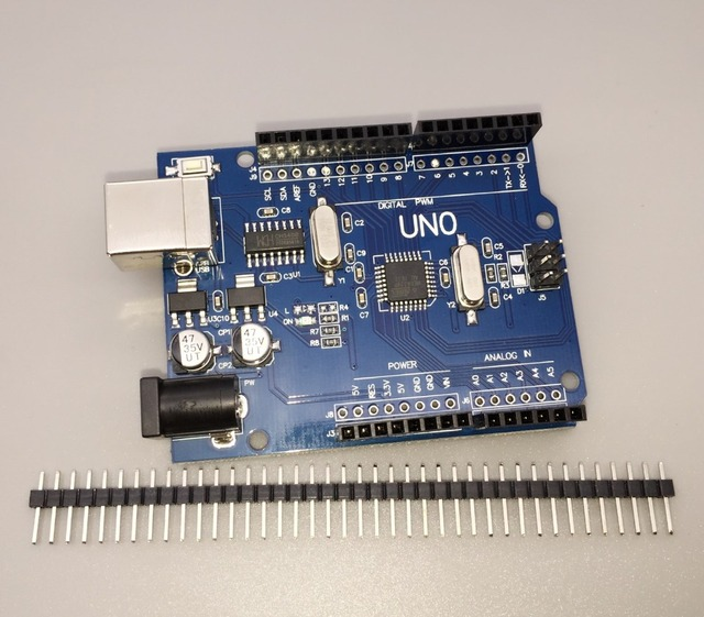 high quality One set UNO R3 CH340G+MEGA328P for Arduino UNO R3 (NO USB CABLE)