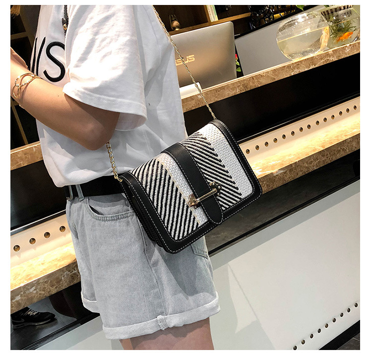 2018 Hottest Women Shoulder Bag Female Luxury PU New Color Grid With A Chain Shoulder Strap With Women Crossbody Bags