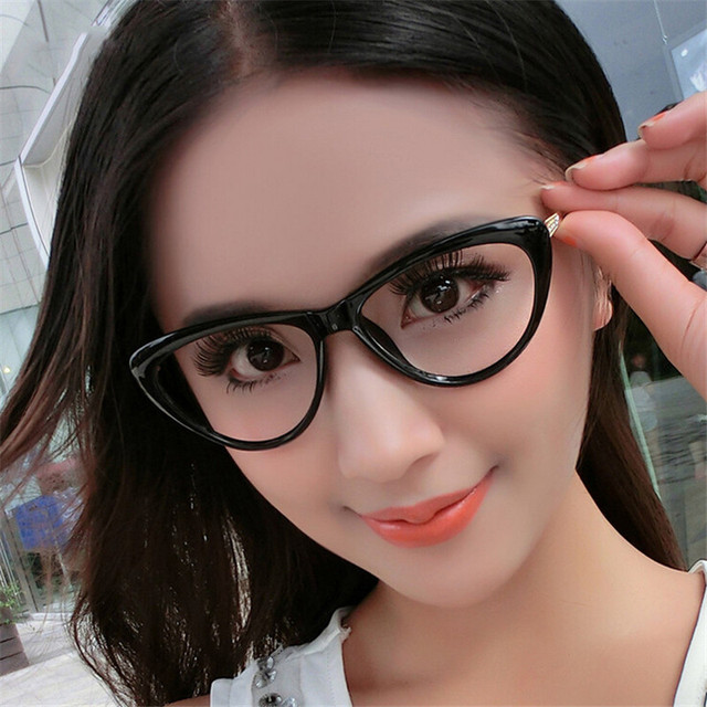 KOTTDO New Brand Women Optical Glasses Spectacle Frame Cat Eye Eyeglasses Anti-fatigue Computer Reading Glasses Eyewear Goggles