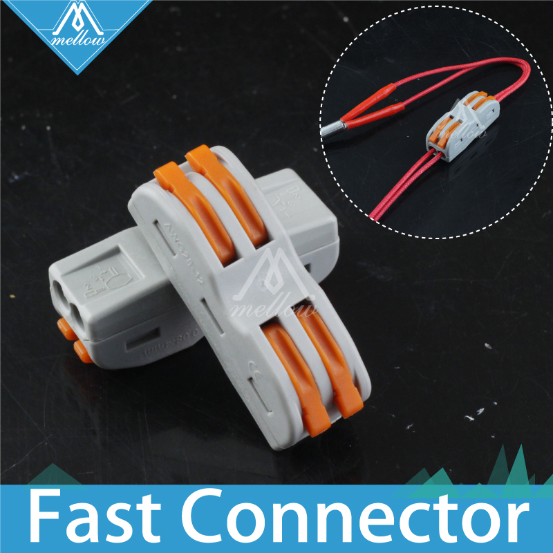 3D Printer Parts Super Wire Connection For Ceramic Cartridge Heater Heating Tube/thermistor 100k Ntc 3950 Hotend CR-10 Anet A8