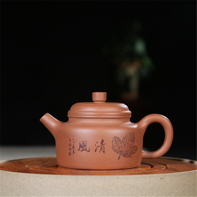 Sand pot of rhyme sea yixing purple sand tea set pure manual teapot clock pot of ore mud 230 cc wholesaleSand pot of rhyme sea yixing purple sand tea set pure manual teapot clock pot of ore mud 230 cc wholesale