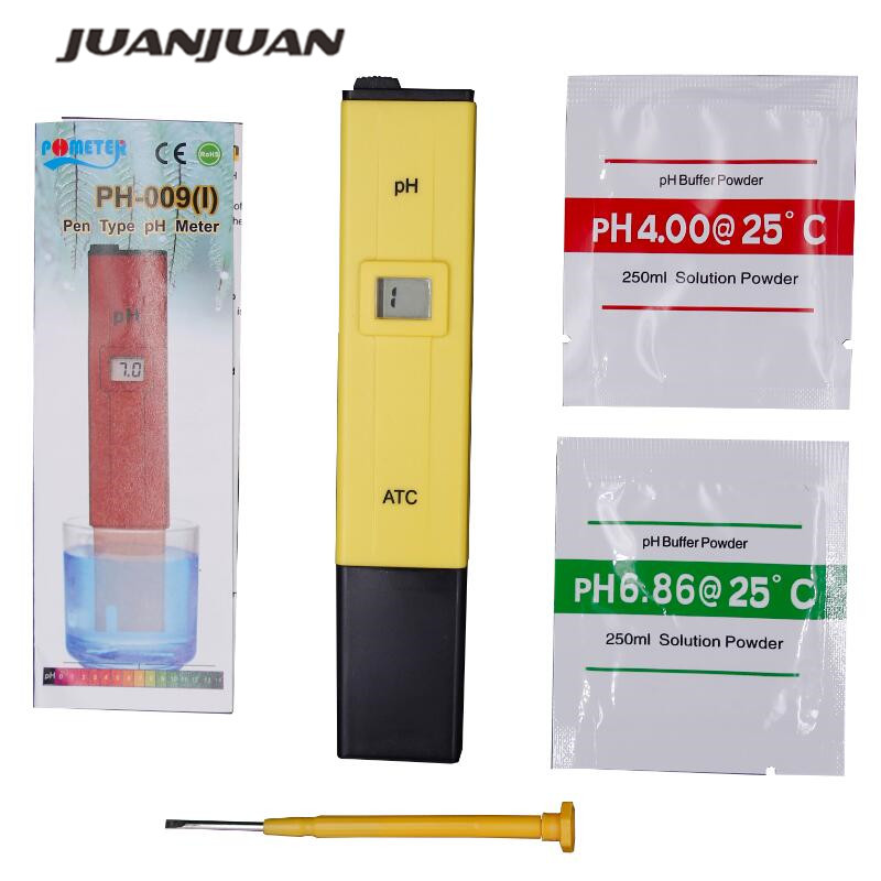 PH Meter Digital PH Tester Water Quality Testers Acidity Measure Device Water Pool Aquarium Hydroponics Home Brew  PH 0-14  40%