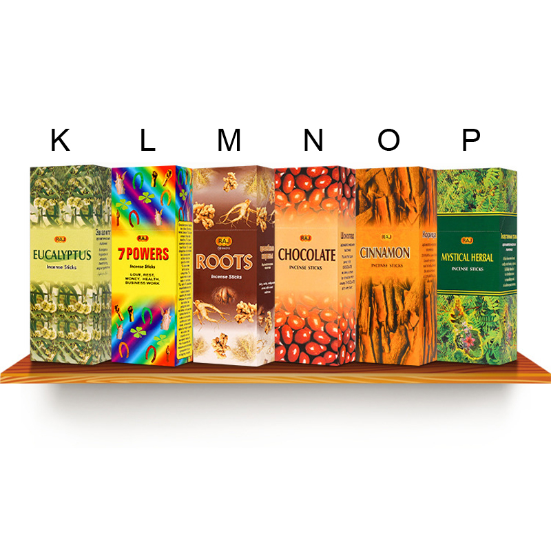 US $15 95 7% OFF New 16 kinds of aroma herbal series incense stick  authentic Indian incense 110 sticks in boxes Patchouli smell Buddhist  supplies-in