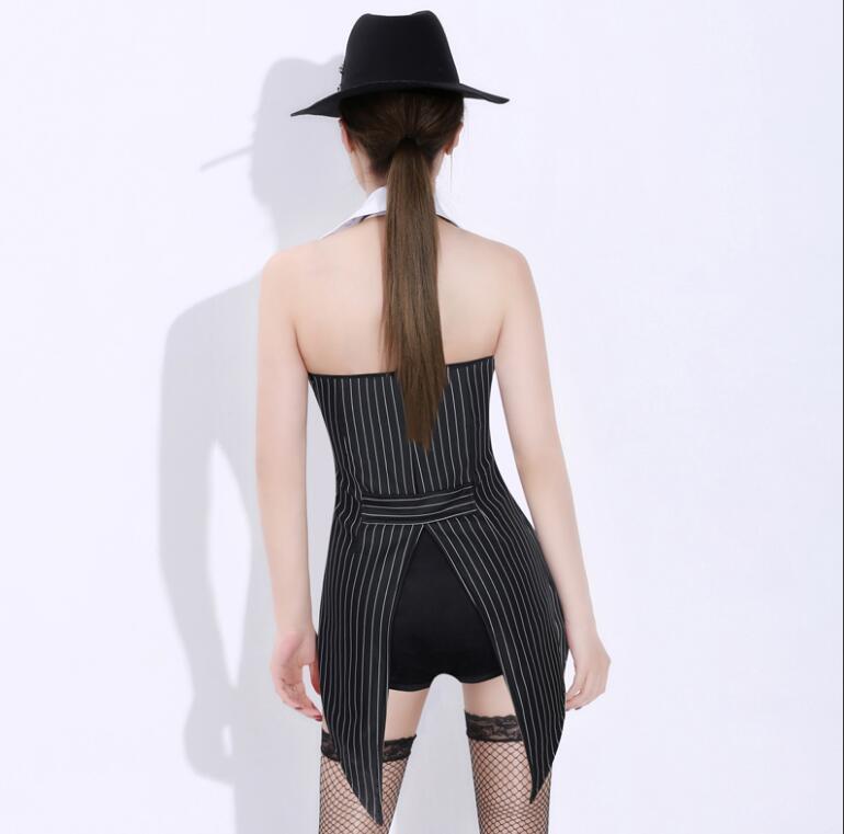 Costume Hop Costumes De Chanteuse 2018 Hip Shirt Ds Nouveau Sexy Manches Performance Sans Dj Discothèque Danse Noir wPN0O8nkX