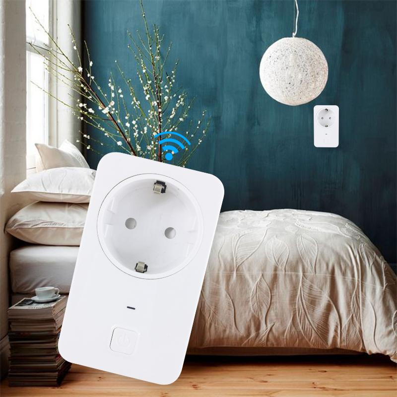 Image 5 - Universal WIFI Power Smart Plug Switch Socket EU Wireless Smart Outlet Intelligent Control Timer Plug for Smart Home Automation-in Remote Controls from Consumer Electronics