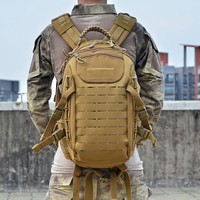 Tactical Backpack Laser Cut Molle PALS Dragon Egg Bag 25L Sport Bag Military Backpack Hiking Outdoor Bags EDC Tactical Gears