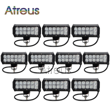 10X 7Inch 36W Car LED Work Light Bar 12V Spot DRL For ATV 4X4 Truck 4WD Offroad Trailer Motorcycle Boat Jeep SUV Fog Lamp Lights