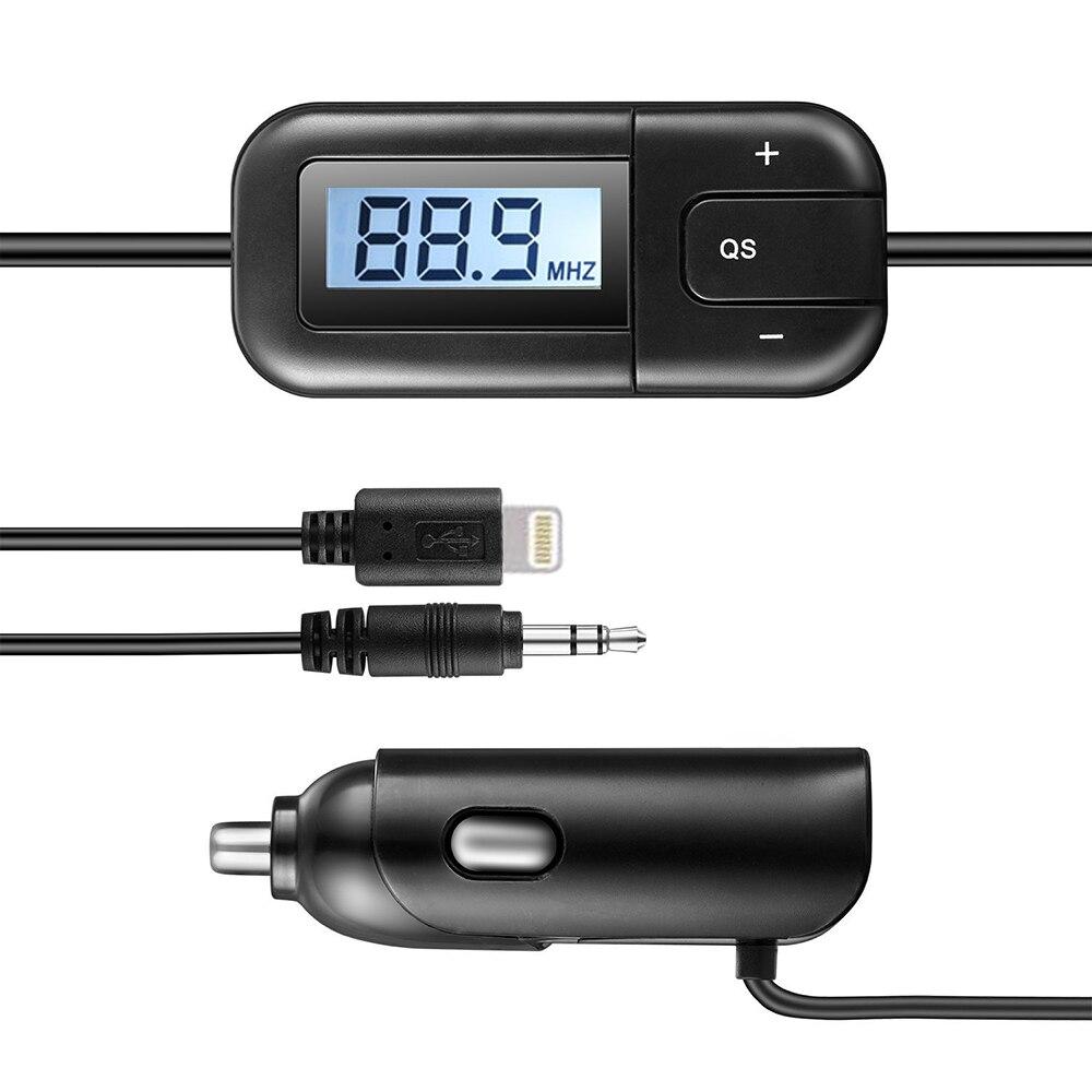 Nuevo coche transmisor FM modulador de radio para iphone 6plus 5s - Electrónica del Automóvil