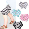 4 Styles Stripe Baby Bread pants Cute Boys Girls Summer Shorts Bottoms kids Bloomers PP Children Pants 0-4Y