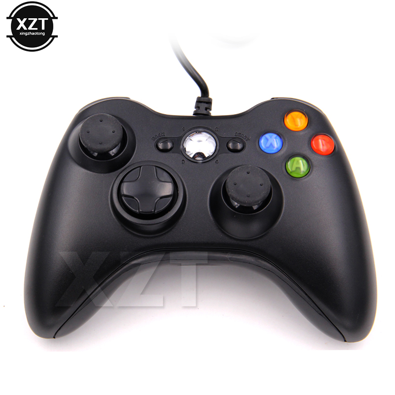 Newest Mini USB Wired Game Pad Joypad Gamepad Controller For Microsoft Game System Laptop For Computer Windows 7 Not for XBOX-in Gamepads from Consumer Electronics