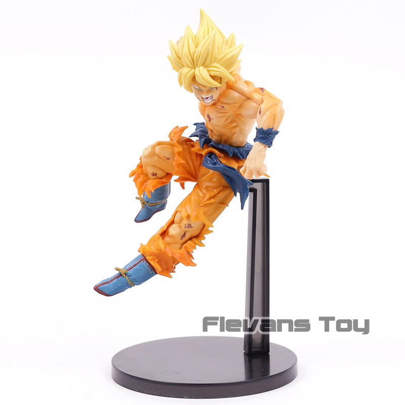 Banpresto DRAGON BALL Z MATCH MAKERS Super Saiyan Son GOKU PVC Figure USA Seller