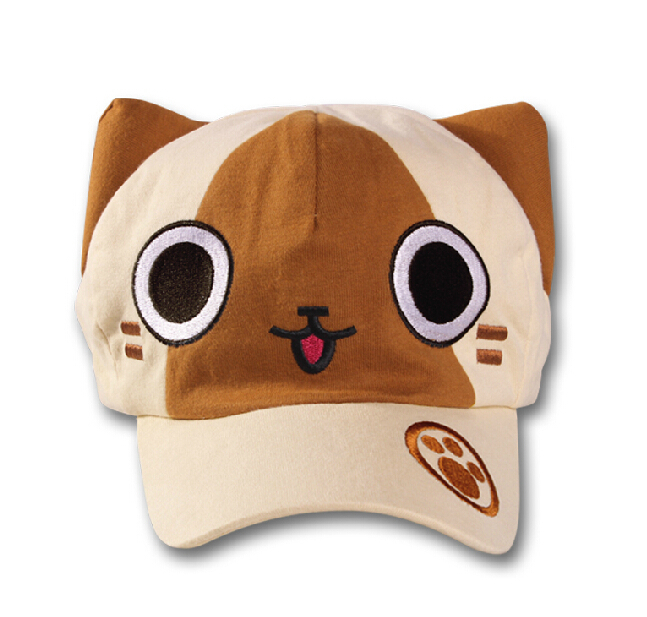 Monster Hunter animation peripheral visor hat