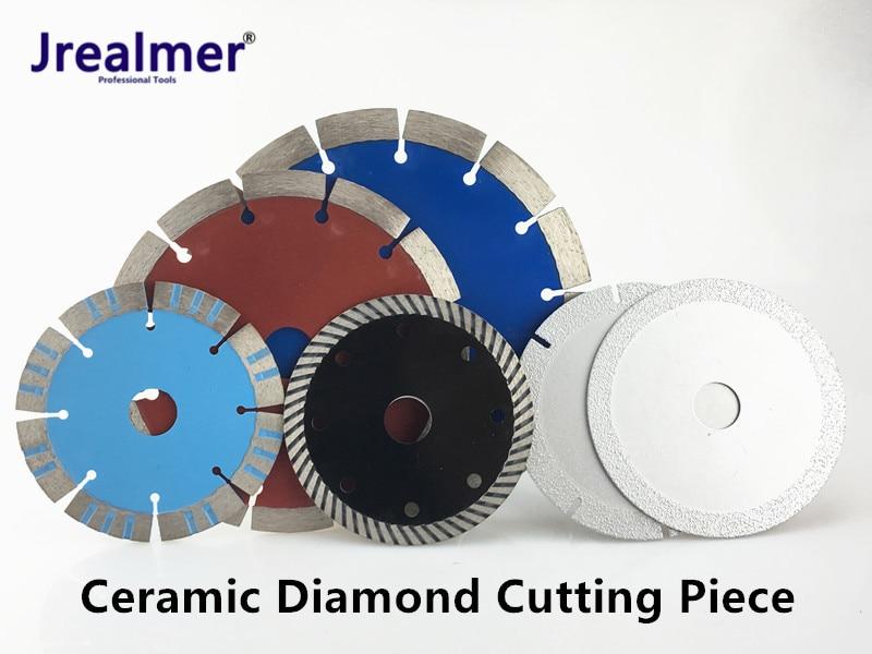 Jrealmer Brazing 1pcs Diamond Saw Blade Diamond Ceramic Procelain Tile Marble Cutting Disc Saw Blade