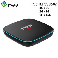 Android TV Box T95 R1 Amlogic S905W Quad Core Android 7 1 1G 8G 2 4G