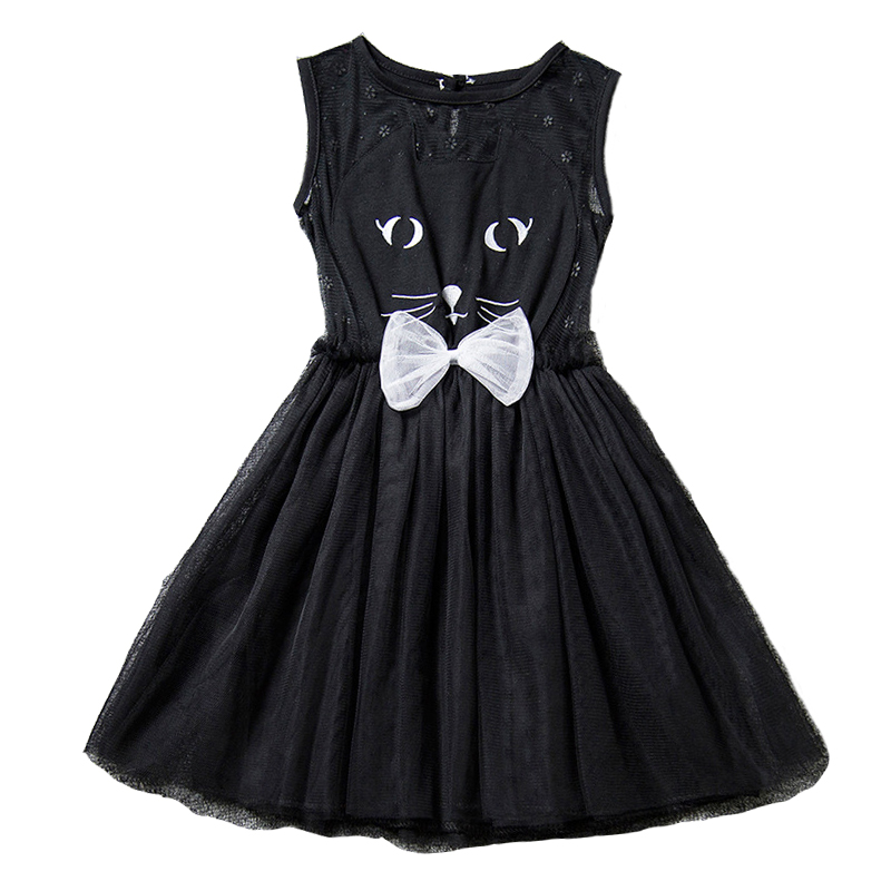 Girl summer dress casual bow lace tutu elsa dress Children animal Girls Wedding Princess Dress baby girl  10 years old clothes baby girls dress 2017 new children lace princess bow clothes toddler school wear wedding dresses for kids 3 6 8 10 11 years old
