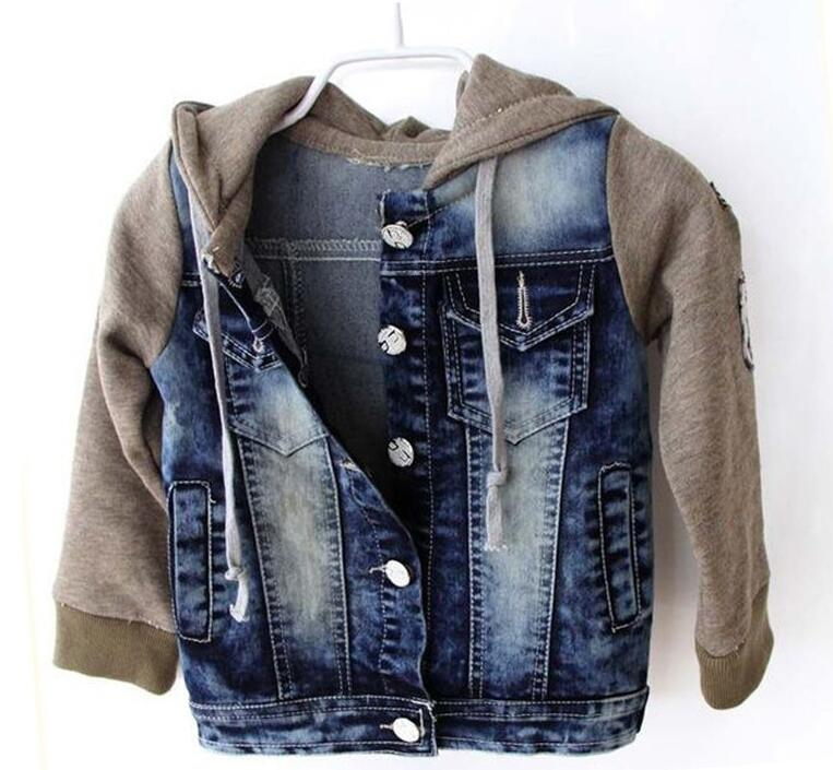 Popular Boys Denim Jacket with Hood-Buy Cheap Boys Denim Jacket ...