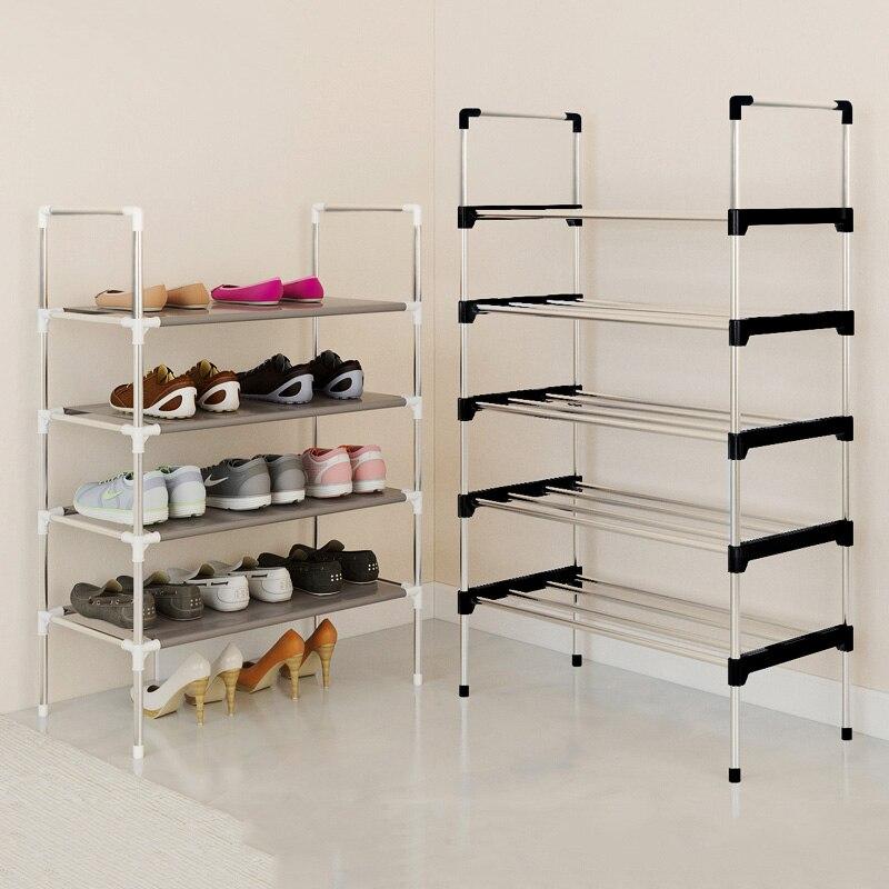 Moderne minimalistischen schuhe organizer hause möbel schuhe schrank montage schuhe closet faltbare kreative multi-zweck schuhe regal