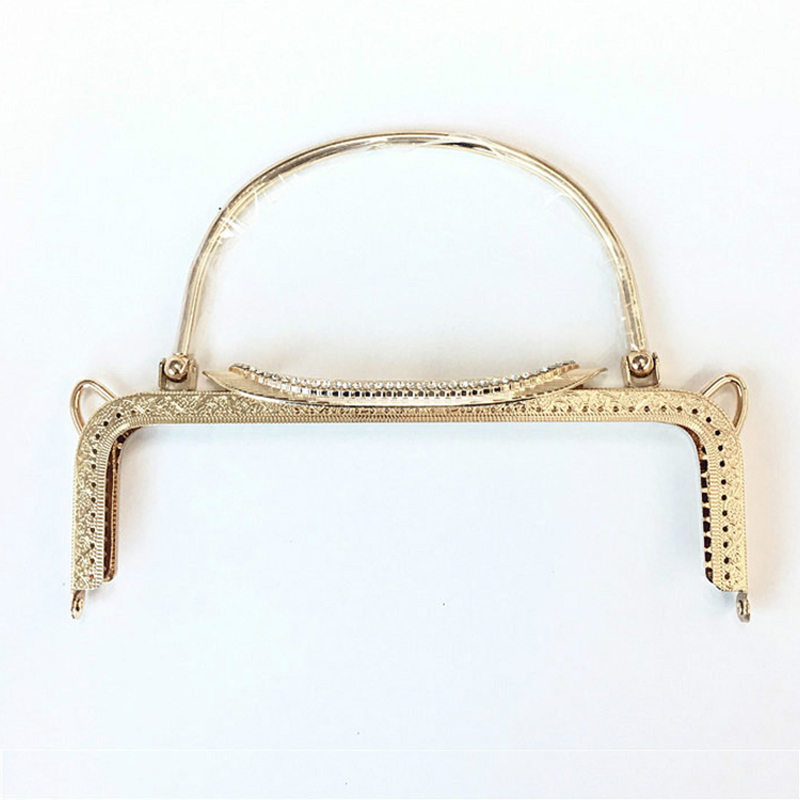 Vintage Metal Purse Frame 2