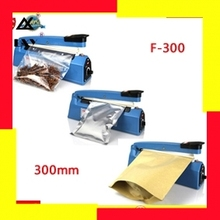 Impulse Sealer, Heat Plastic Bag Sealer, Impulse Bag Sealing Machine F300, Hand Press Heating Sealer Film Sealing Free Shipping
