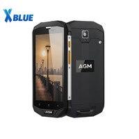 AGM-teléfono inteligente A8 SE, móvil resistente al agua IP68, pantalla HD de 5,0 pulgadas, 2GB RAM, 16GB rom, procesador MSM8916, Quad Core, cámara de 8MP, batería de 4050mAh, envío gratuito