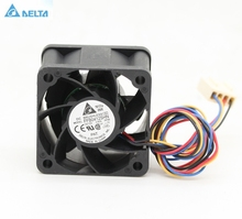 Free Shipping!Delta Delta 4028 4 cm 12V0.60A PWM fan FFB0412SHN server inverter cooling fan free shipping for delta athb0924ae cc42 dc 24v 0 76a 90x90x38mm 4 wire server square cooling fan