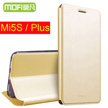 Xiao Mi 5S плюс чехол откидная крышка Mofi Xiaomi Mi 5S Pro Prime 128 ГБ принципиально Сяо Mi 5S плюс Coque Капа 64 ГБ Xiaomi MI5 S случаях