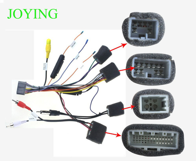 joying wire harness for toyota hilux only for joying android device rh aliexpress com toyota wiring harness lawsuit toyota wiring harness pins