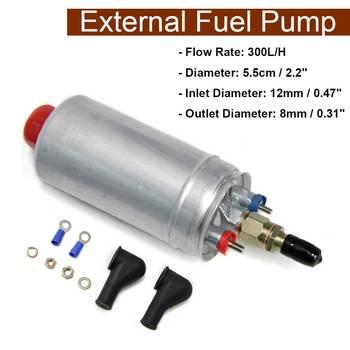 Substituição Da Bomba De Combustível de óleo Externo 300LPH Injeção De Combustível w/Acessórios de Instalação De Combustível Elétrica Bomba de Ar Calor Estacionamento