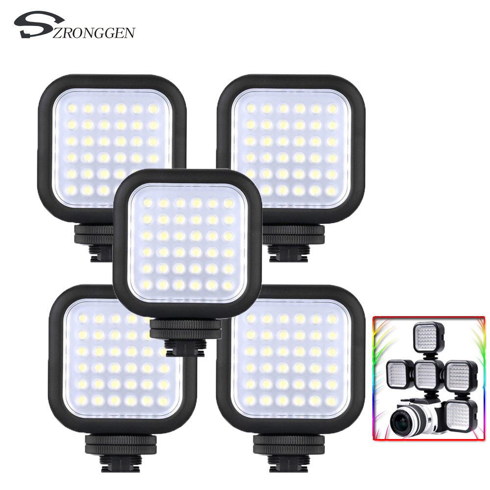 Original Godox LED36 LED Video Light 36 LED X5 Lights Lamp Photographic Lighting 5500 6500K for