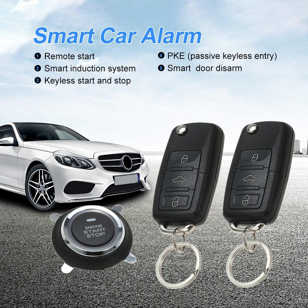 Универсальный автомобильный сигнал Системы S Auto удаленному центральному комплект дверные замки Автозапуск Системы Центральный замок smart и...